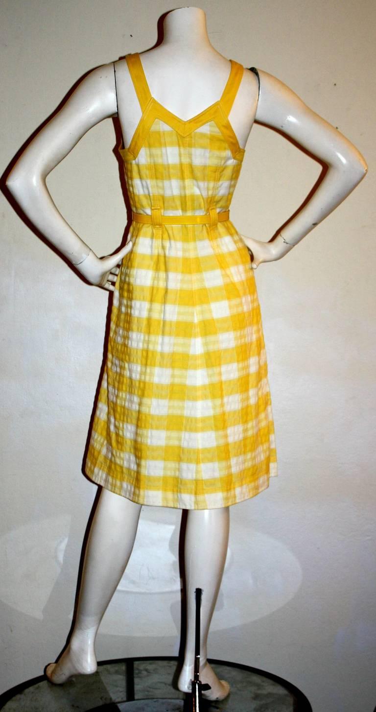 Yellow Dress Age 6