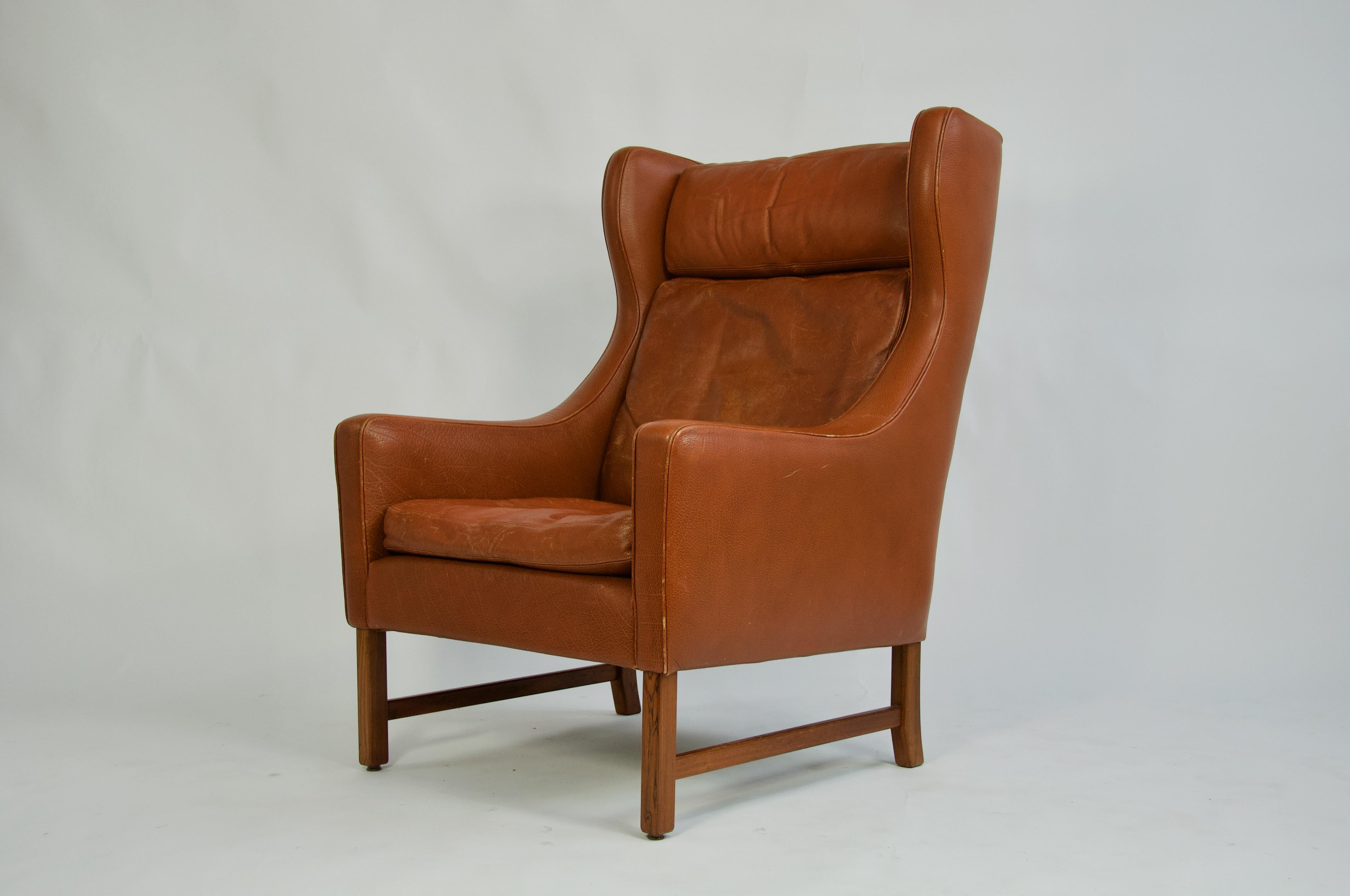 Danish Leather Chair Sante Blog