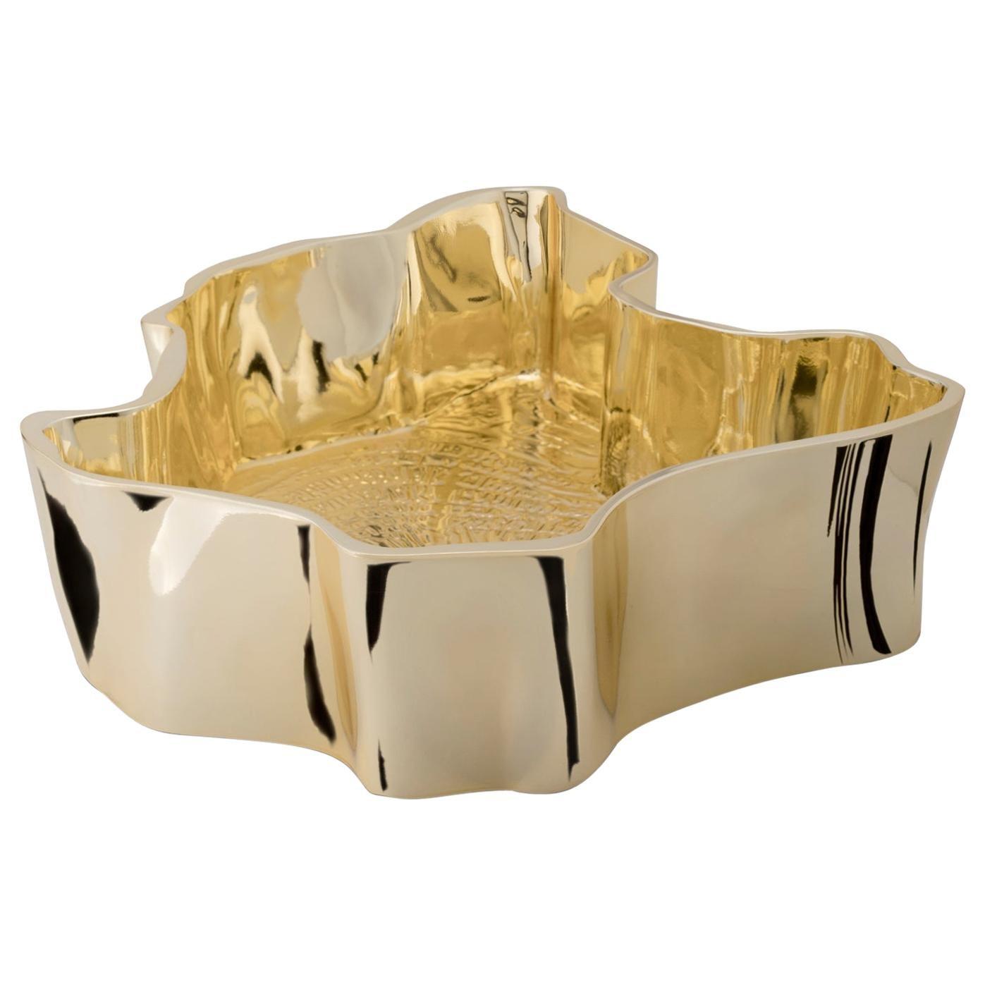 eden vessel sink gold plated