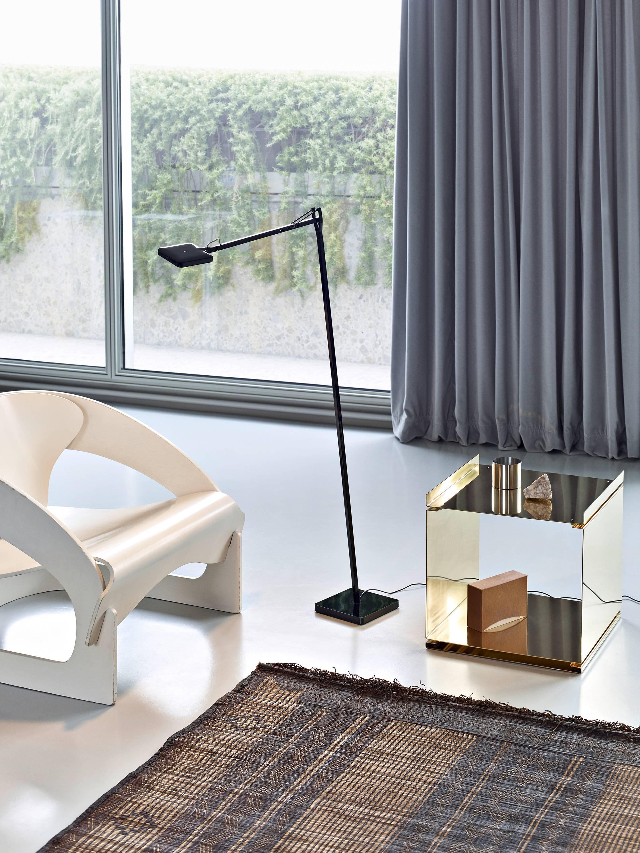 FLOS Ipnos Outdoor Floor Lamp in Black by Nicoletta Rossi ...