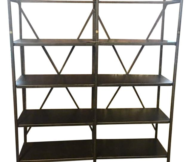 Industrial Metal Shelving Unit By Theodore Scherf Paris France 19th Century At 1stdibs