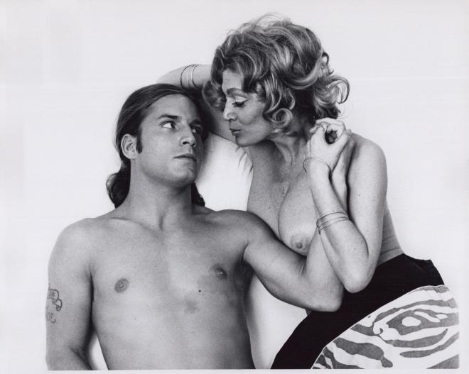 Sylvia Miles, Joe Dallesandro  Heat