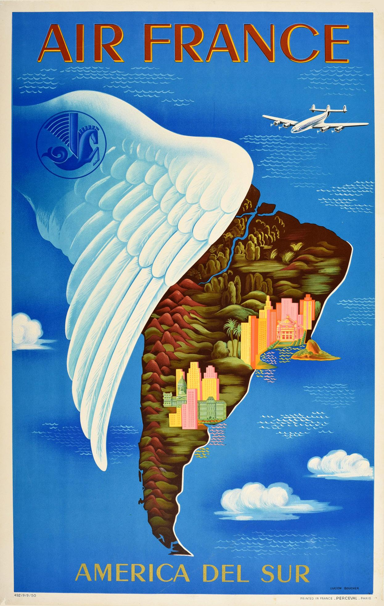 vintage air france travel posters 47