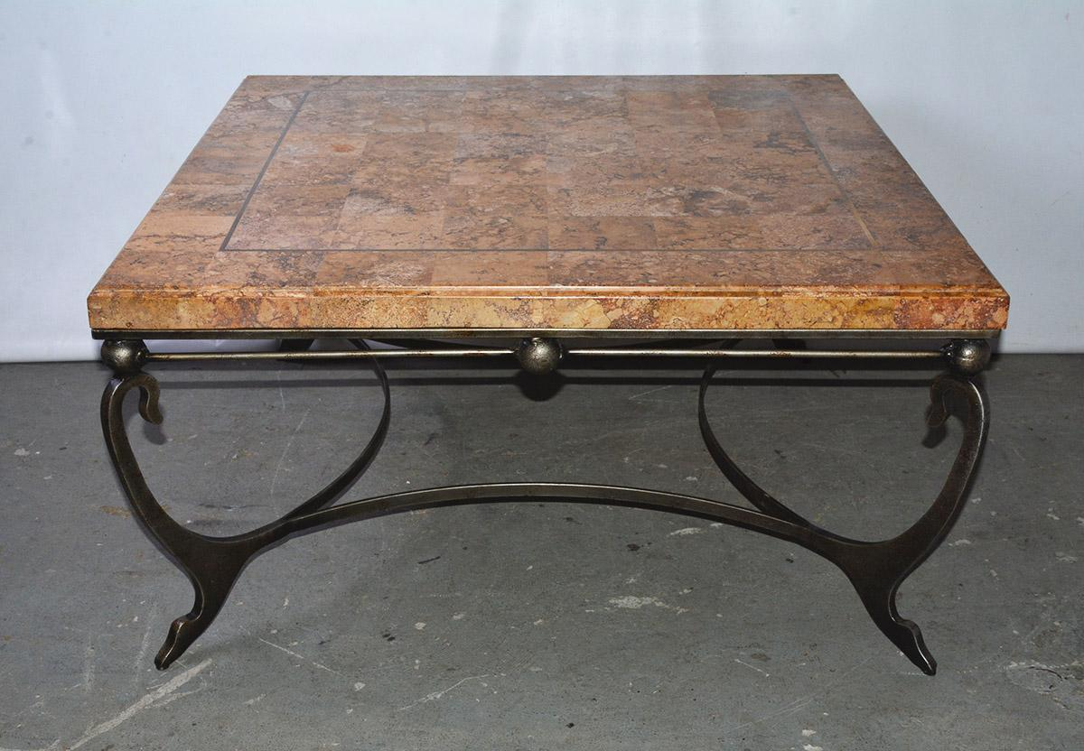 marble tile coffee table