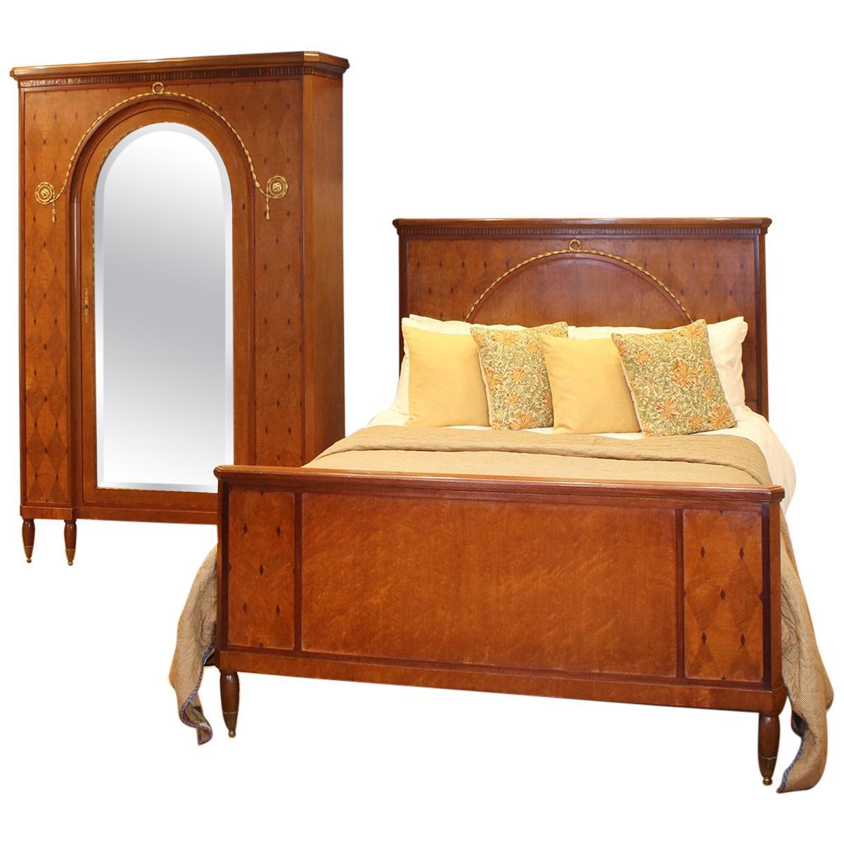 mercier freres two piece bedroom set wk142