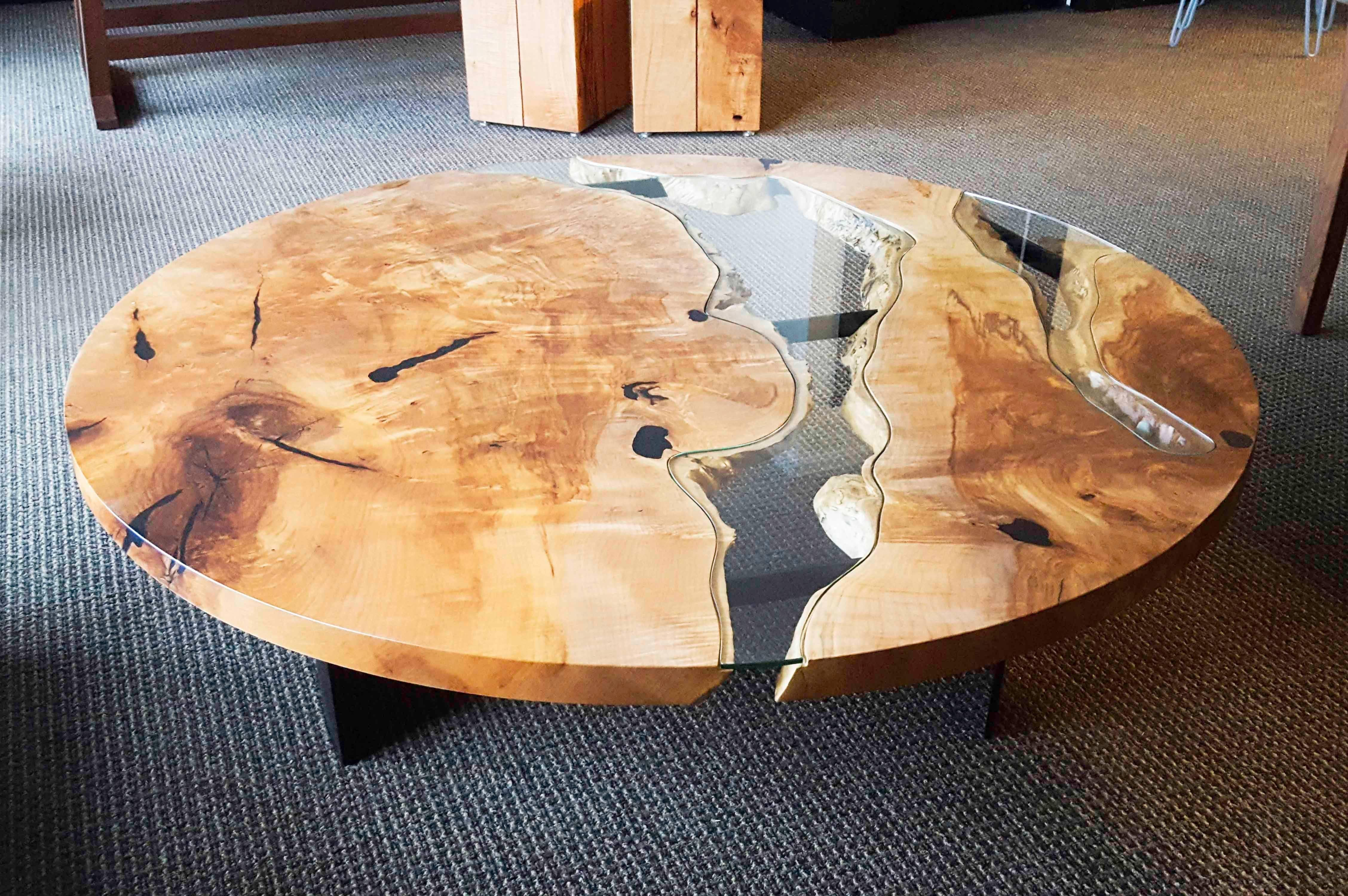 Round Run Dining River Table