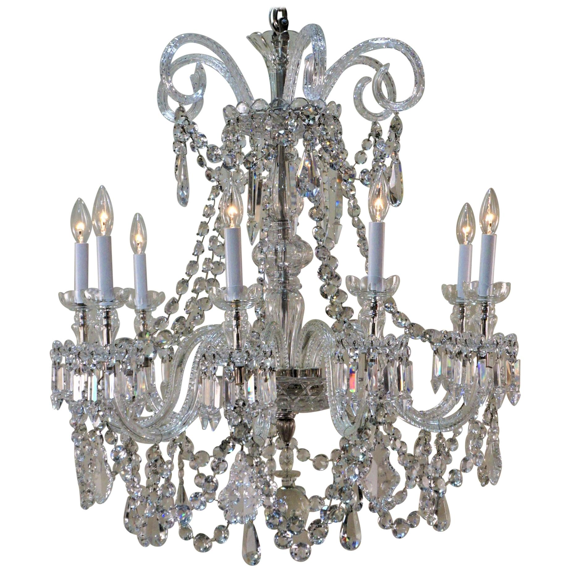 royal saint louis crystal chandeliers