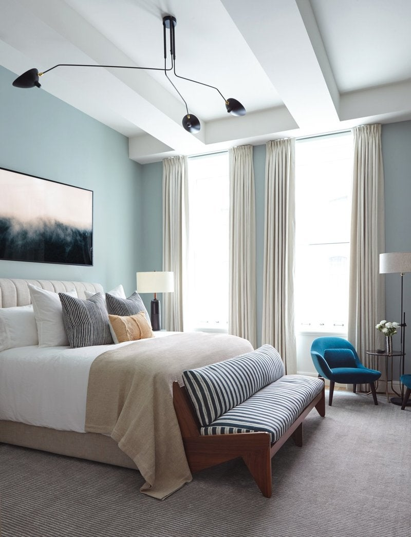 A Fresh Take On A Modern Master Modern Bedroom In New