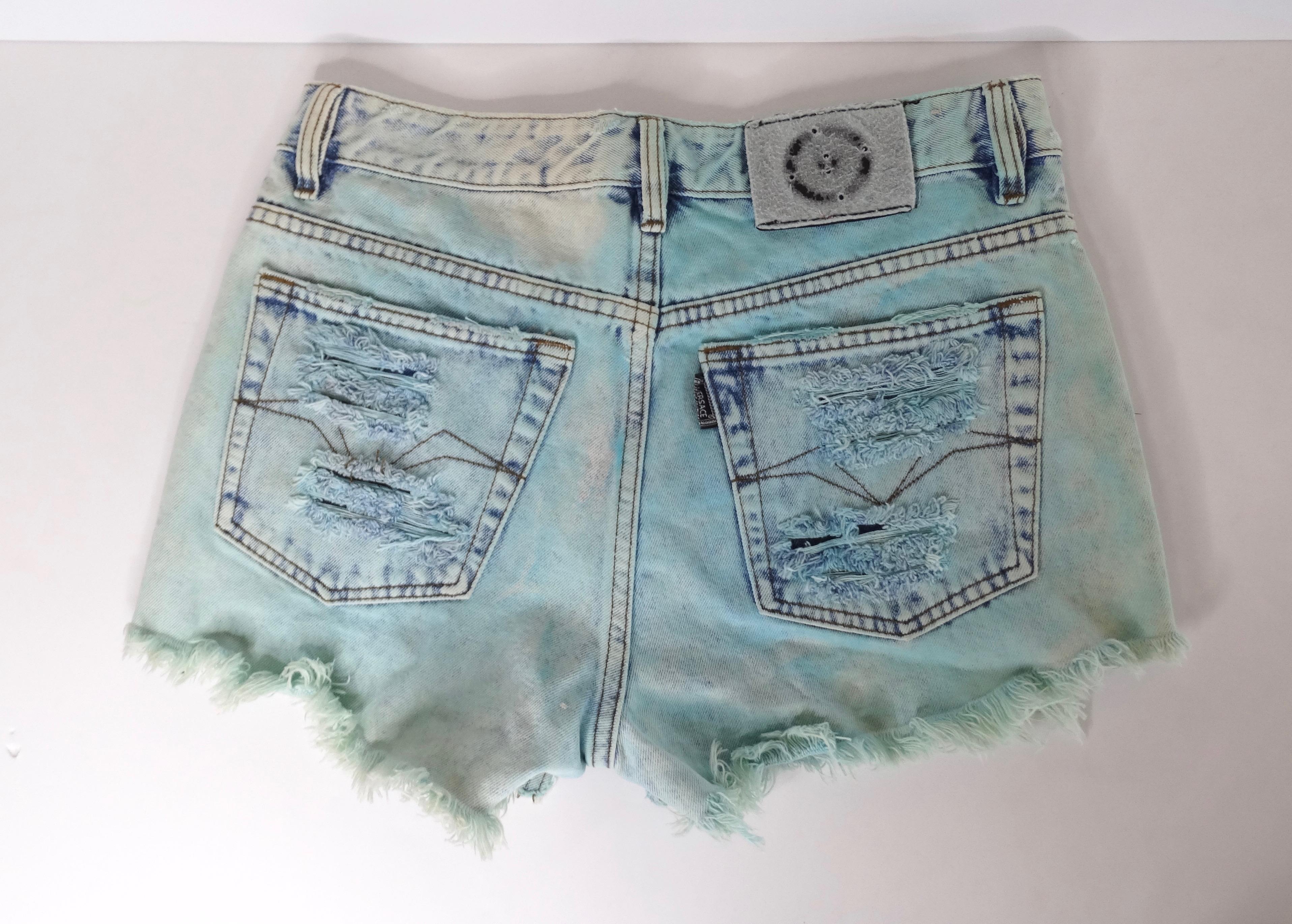 Versace Versus Baby Jeans Blue