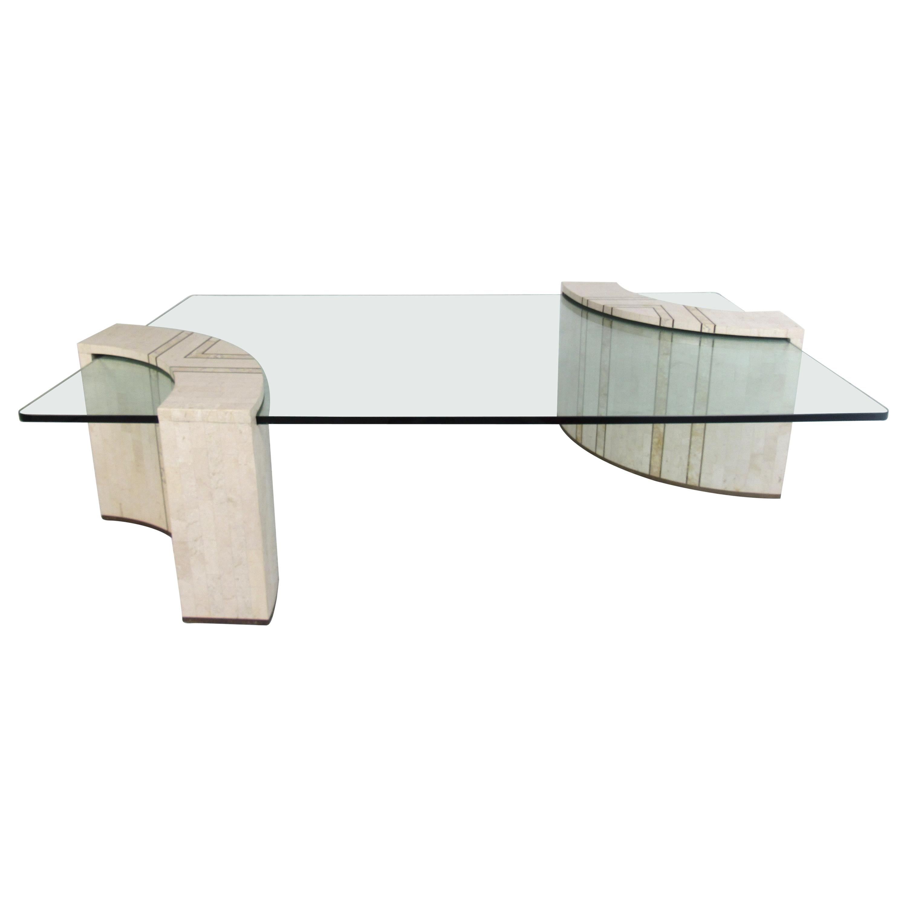 vintage casa bique by robert marcius tessellated stone coffee table