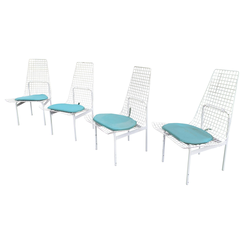 metal mesh patio furniture 5 for sale