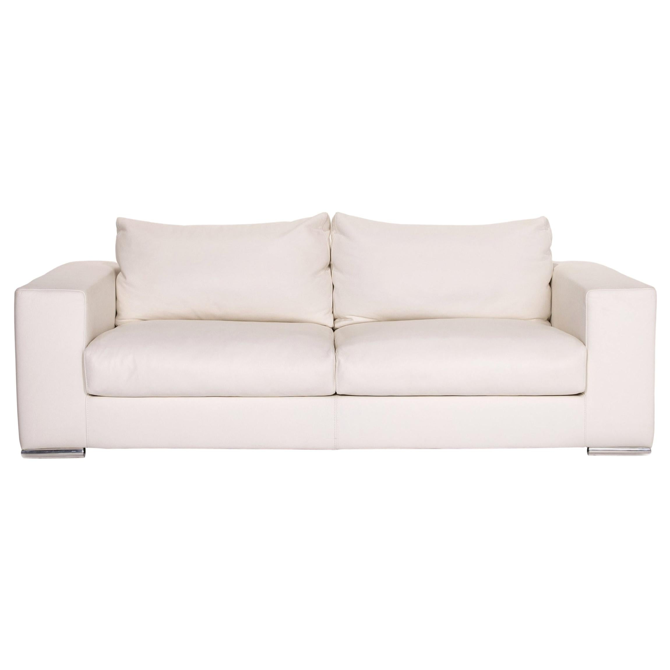 who s perfect leather sofa white two seat couch