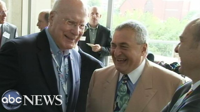 PHOTO: Pat Leahy and Tony Podesta
