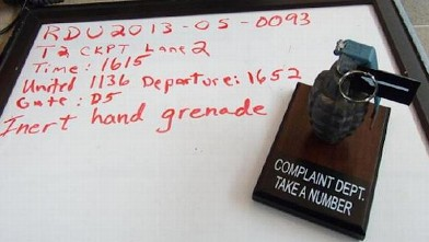 TSA Unusual Confiscated Objects