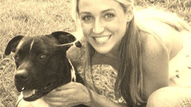 PHOTO: Ashley Owen Hill, seen in this undated photo with her dog Rudy, runs Lucky Dog Rescue shelter in Mississippi, which received free dog food from 1-800-Flowers.