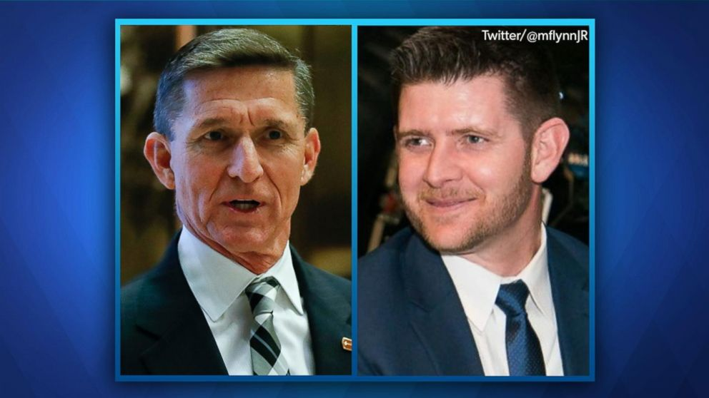 Image result for Michael Flynn and son
