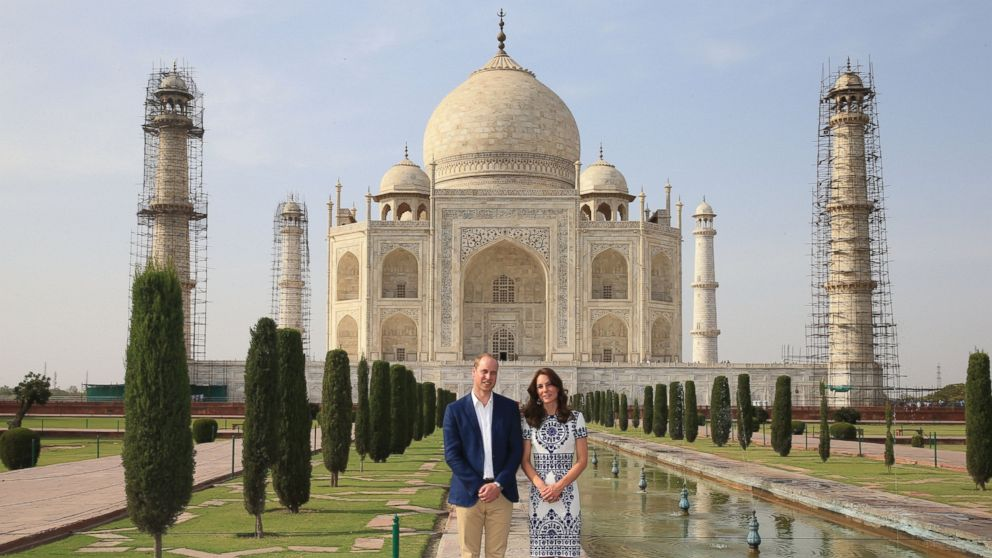 Image result for william kate taj mahal