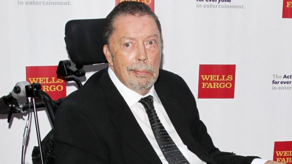 PHOTO: Tim Curry arrives at The Actors Funds 19th Annual Tony Awards viewing party held at Skirball Cultural Center, June 7, 2015, in Los Angeles.