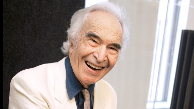 """PHOTO: Jazz composer and pianist Dave Brubeck, whose pioneering style in pieces such as """"Take Five"""" caught listeners' ears with exotic, challenging rhythms, died Dec. 5, 2012."""