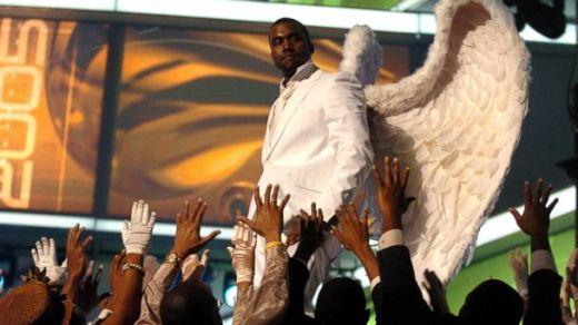 Image result for kanye as jesus
