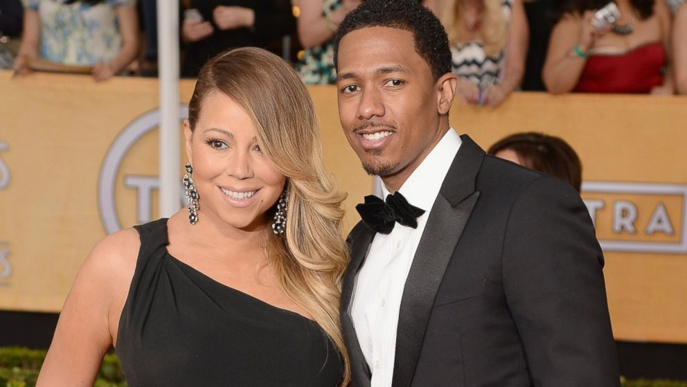 PHOTO: Mariah Carey and Nick Cannon attend the 20th Annual Screen Actors Guild Awards at The Shrine Auditorium on Jan. 18, 2014 in Los Angeles, Calif.