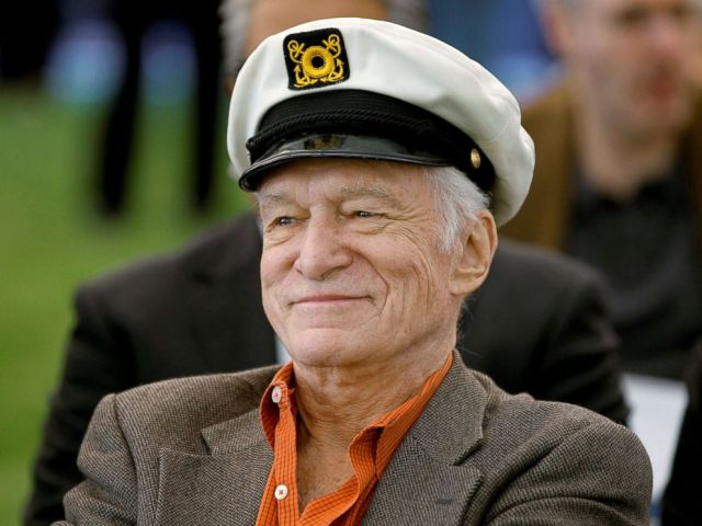 PHOTO: Playboy Magazine founder Hugh Hefner at the news conference for the upcoming Playboy Jazz Festival, at the Playboy Mansion in Los Angeles, Feb. 10, 2011.
