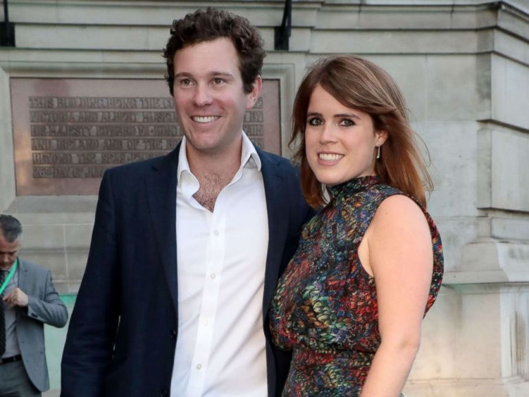 PHOTO: Jack Brooksbank and Princess Eugenie at the Victoria and Albert Museum Summer Party, June, 21, 2017, in London.