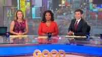 VIDEO: 'GMA' special guest gets an early-morning greeting from George Stephanopoulos.