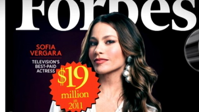 Sofia Vergara Named Highest Earning Woman In TV By Forbes