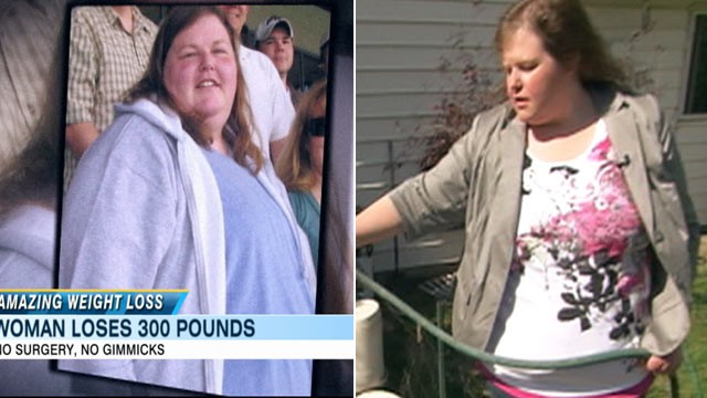 PHOTO: Shannon Davis lost 300 pounds all on her own, without surgery or a gimmicky diet.