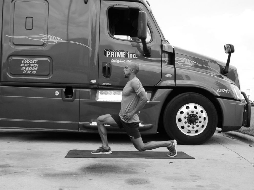PHOTO: Former truck driver Siphiwe Balekas new book, The Metabolism Accelerator for the Time Crunched, Deskbound, and Stressed Out teaches simple exercises to get in shape.