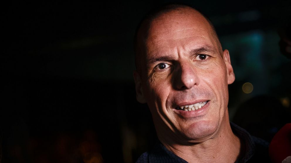 PHOTO: Greeces Finance Minister Yanis Varoufakis leaves his office in Athens, July 1, 2015.