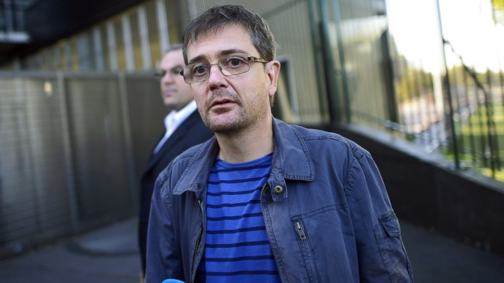 PHOTO: Stephane Charbonnier is pictured on Sept. 19, 2012 in Paris.