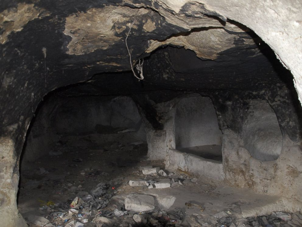 PHOTO: A view of the underground city newly discovered in Turkeys Central Anatolian province of Nevsehir, Turkey is seen in this Dec. 28, 2014 file photo.