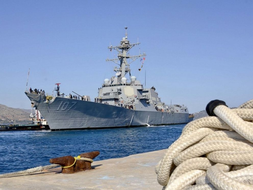 PHOTO: The Arleigh Burke-class guided-missile destroyer USS Gravely (DDG 107) arrives in Souda Bay, Greece.