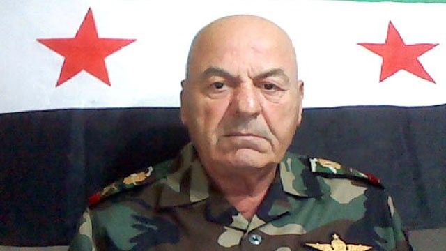 PHOTO: Syria's Major-General Adnan Sillou is shown.