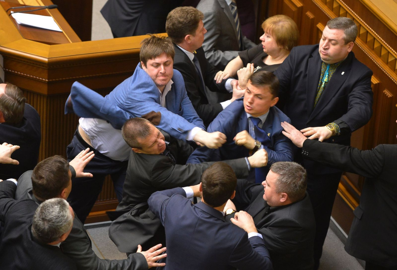 Image result for image of politicians fighting in chamber