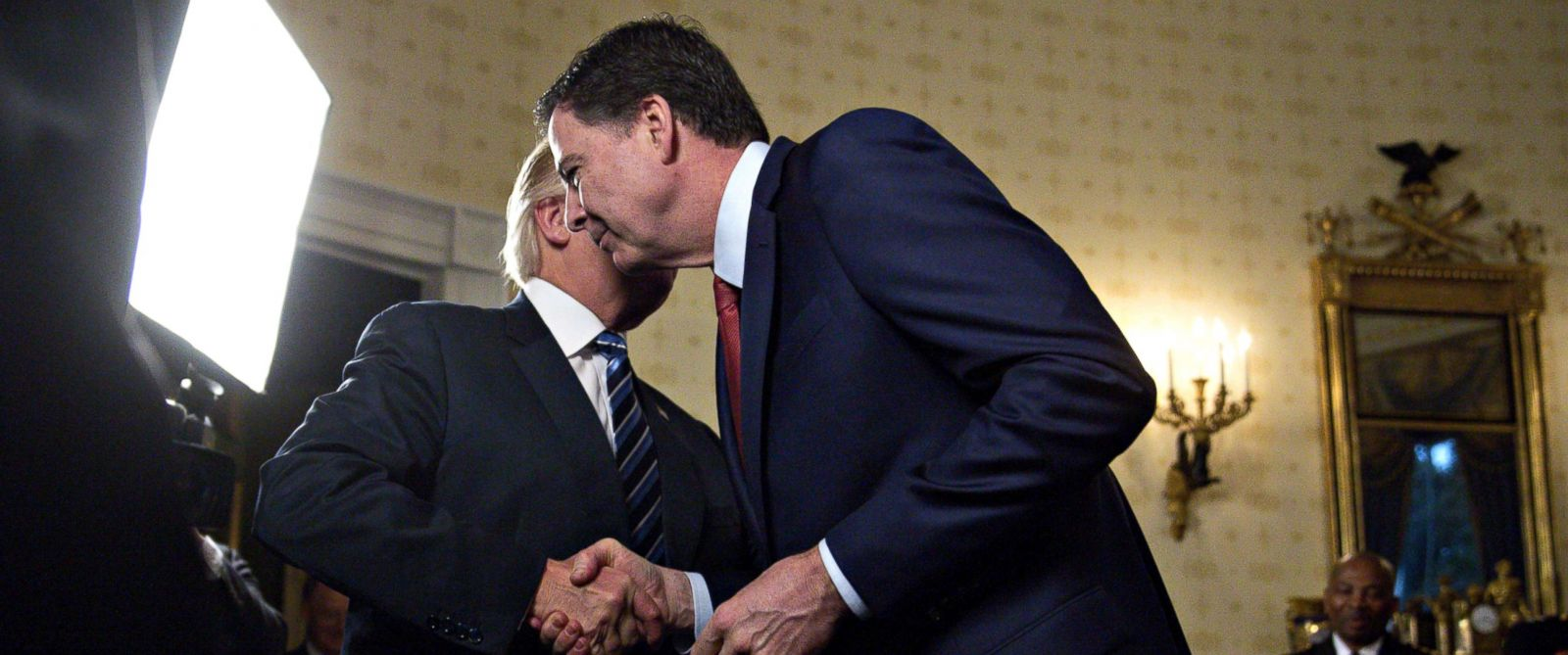 Image result for IMAGES OF TRUMP AND COMEY