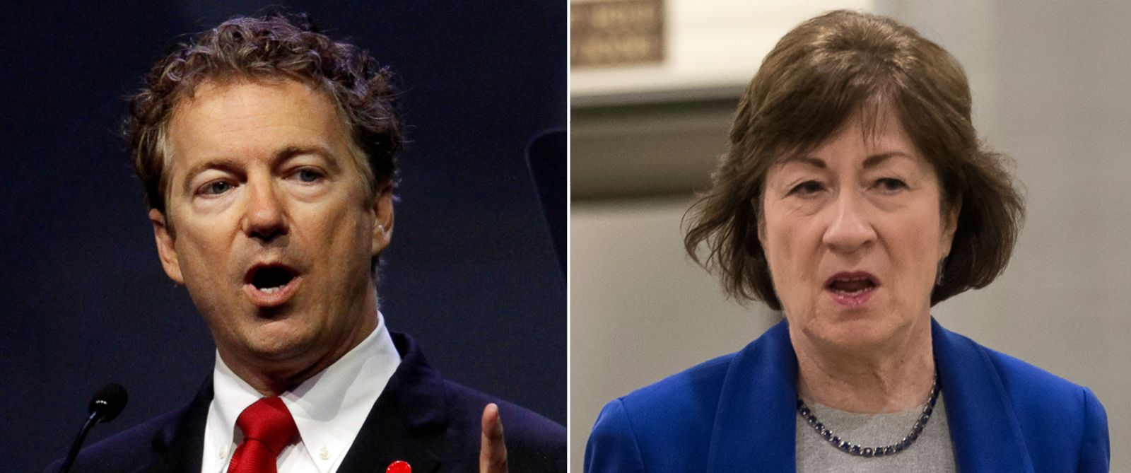 Image result for photos of rand paul and susan collins