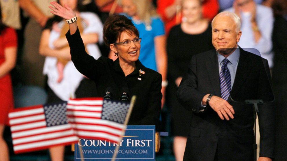 Image result for palin mccain