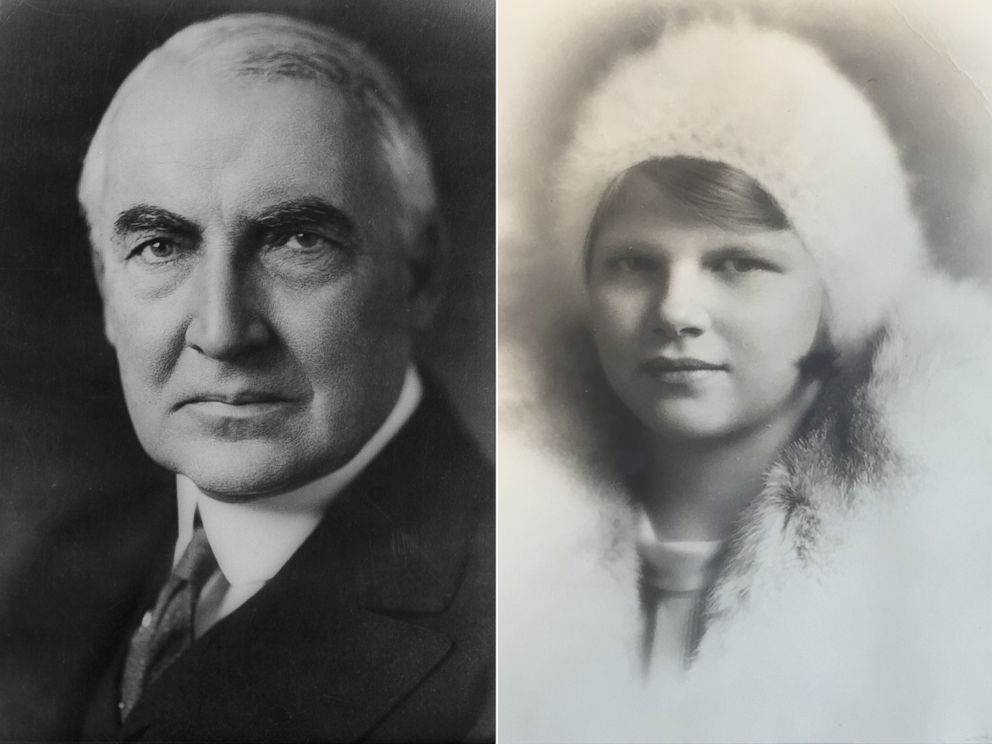 PHOTO: Warren Harding and his out-of-wedlock child, who was just proven to be his daughter through DNA testing.