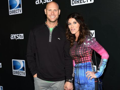 PHOTO: New York Giants kicker Josh Brown and Molly Brown attend DirecTV Super Saturday Night at Pendergast Family Farm, Jan. 31, 2015, in Glendale, Arizona.