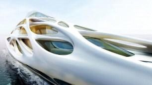 Exoskeletal, Futuristic Superyachts
