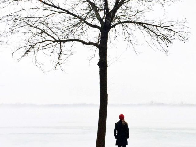 PHOTO: A walk on a frozen lake is a must-do in Minneapolis.