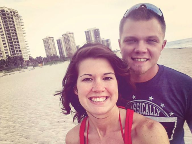 PHOTO: Derek and Jessica Simmons, of Panama City, Florida, are pictured in this undated handout photo.