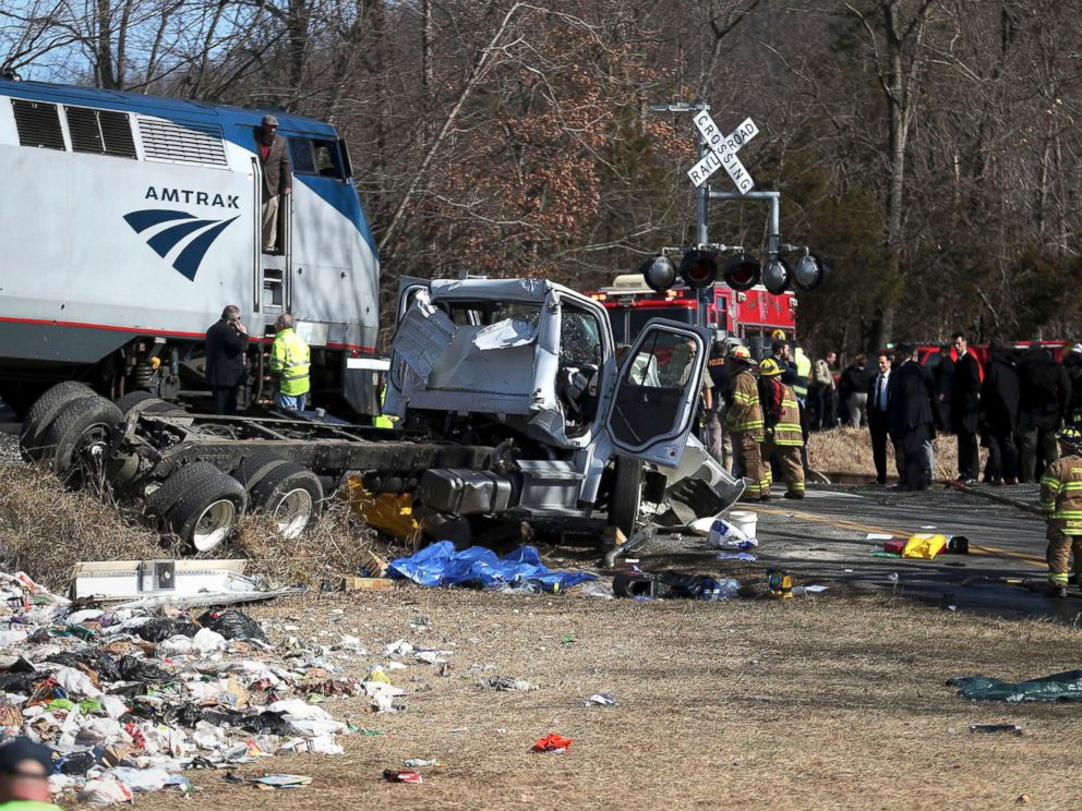 Image result for amtrak train crash