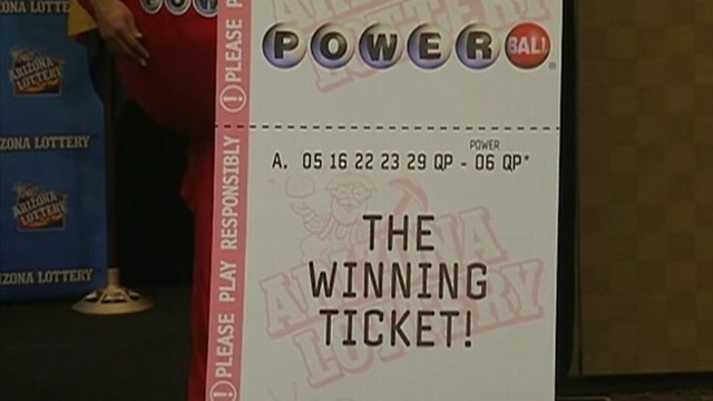 VIDEO: Lottery officials identify Matthew Good as the second winner of the $587.5 million jackpot.