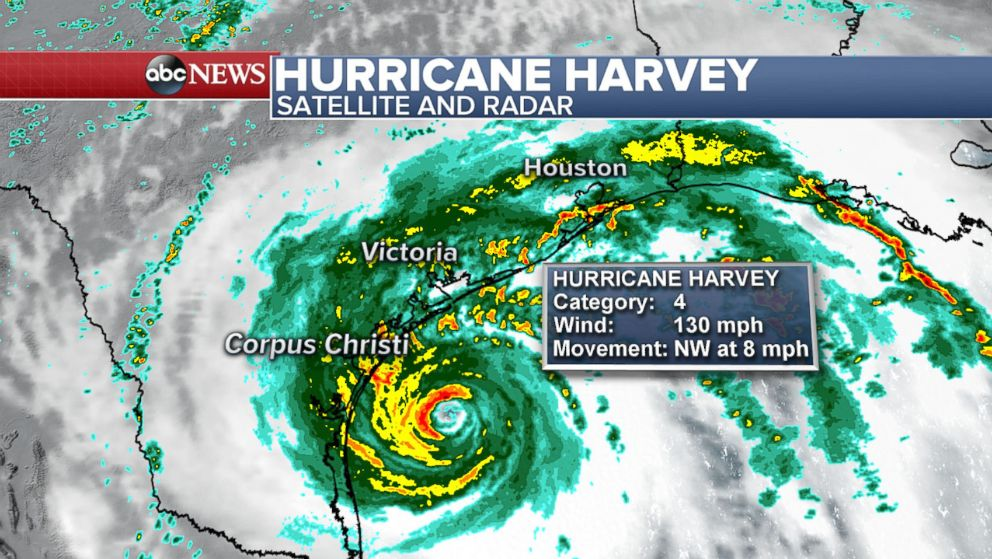 Image result for picture of Hurricane Harvey August 25 2017