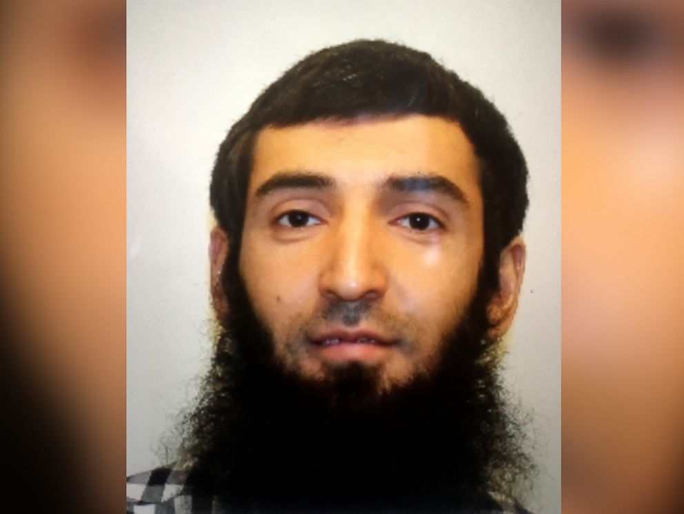 PHOTO: Suspect Sayfullo Saipov seen in this undated photo.