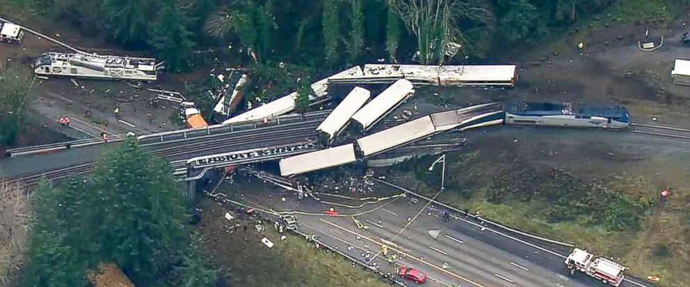 Image result for tacoma train derailment 2017